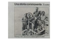 Egidio e Secondo nel 1941 a Sebenico.